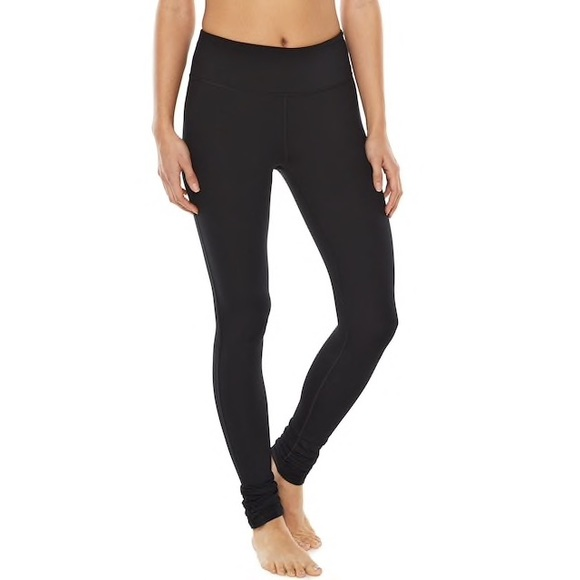 0185b63168f6f2 Gaiam Pants | Om Yoga Legging With Ruched Ankle | Poshmark